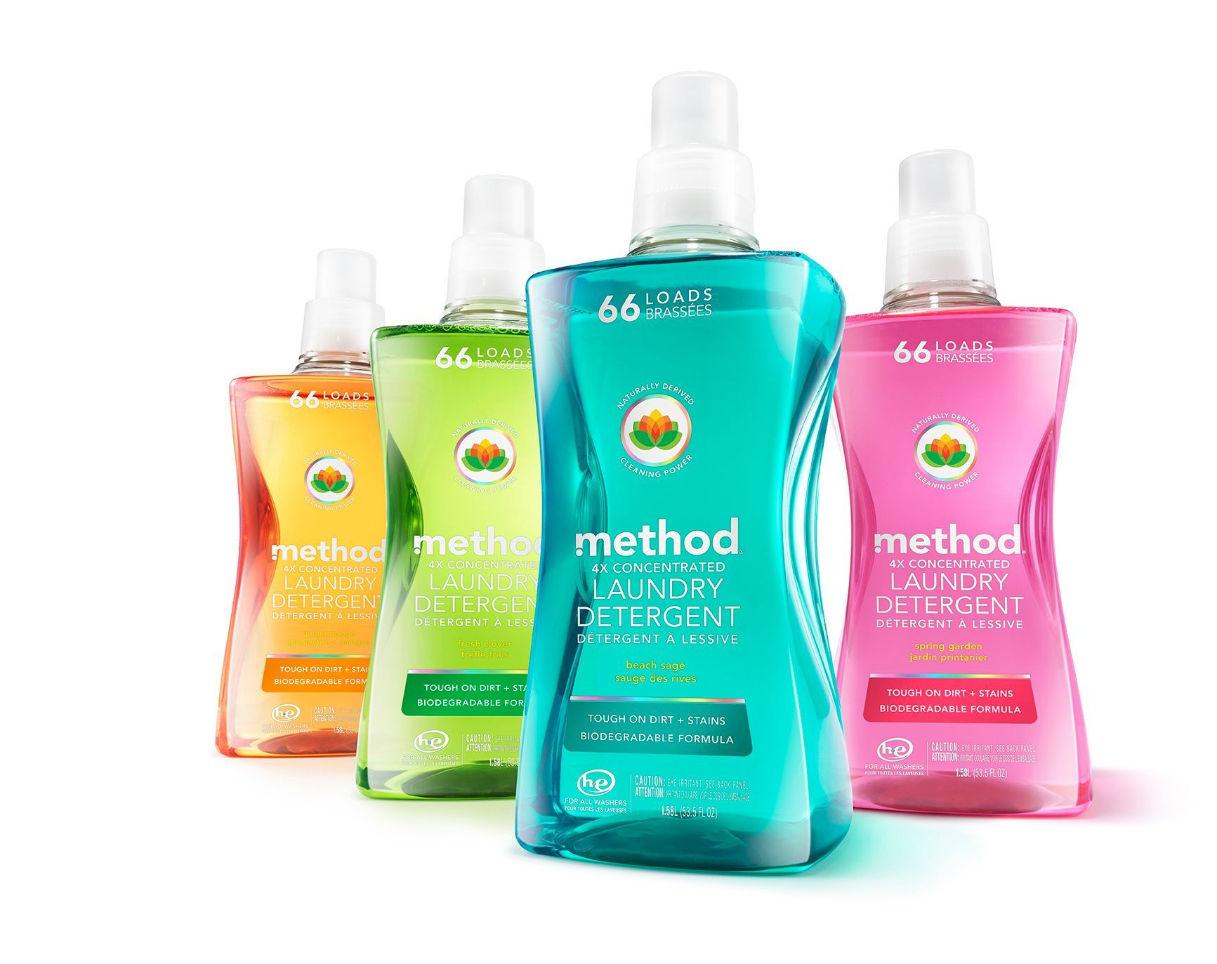 Laundry Detergent Recylced Bottle 2016 Diamond Finalist Award