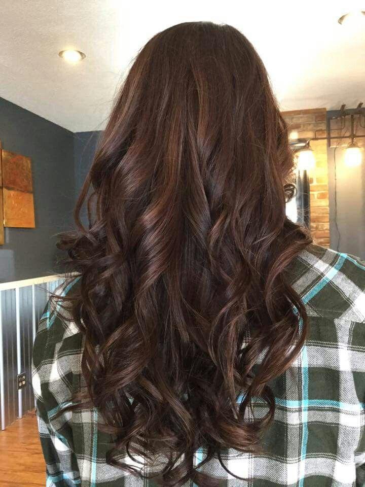Rich Mocha With Soft Hazelnut Bayalage Hair Pinterest