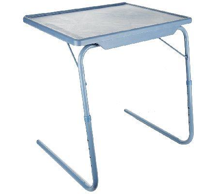 Table Mate Xl Multipurpose Adjustable Folding Table Qvc