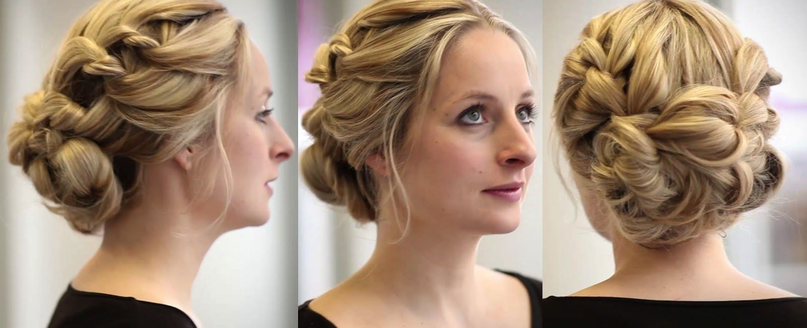 hairstyles for bridesmaids with short hair : simple hairstyle ideas