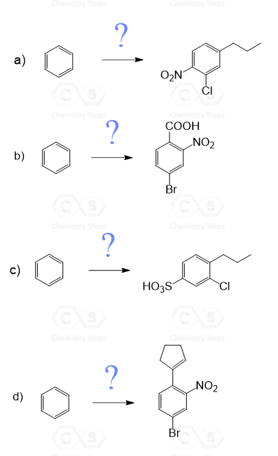Orientation In Benzene Rings With More Than One Substituent Chemistry Steps Organic Reactions Chemistry Benzene