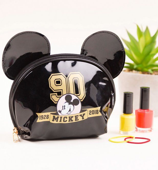 ec25d7071d Disney Mickey Mouse Limited Edition Make Up Bag from Mad Beauty. Cosmetic  Case