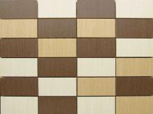 Brown Tenera Mixed Mosaic Bathroom Tiles