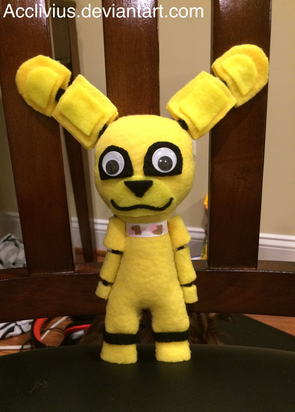 Fnaf bonnie costume for sale - Golden_bonnie_plush_by_acclivius D8fxvr5 Jpg 1024 1428
