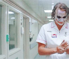 """The Joker""The Dark Knight, Heath Ledger, 2008"
