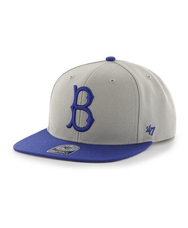 d6ba51e9 MLB Los Angeles Dodgers Cooperstown Sure Shot '47 CAPTAIN Snapback Hat