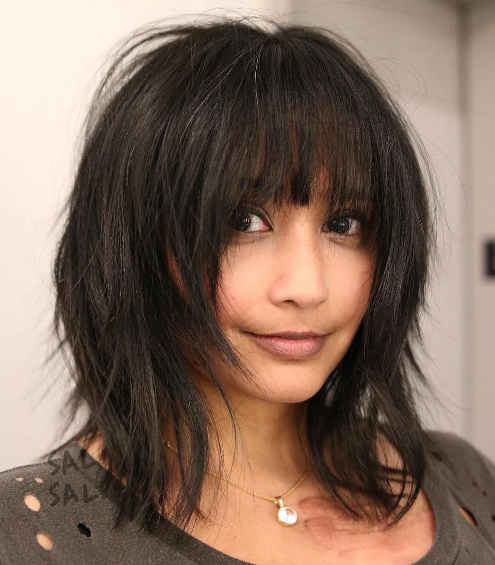 Razor Cut Hairstyles 20 Gorgeous Razor Cut Hairstyles For Sharp Ladies  Bangs Haircuts