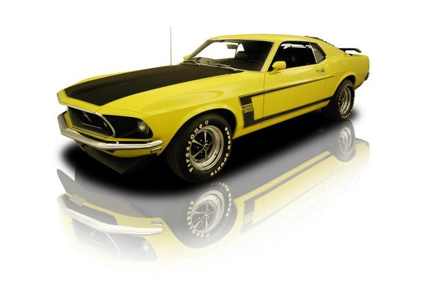 1969 Ford Boss 429 Pretty Sure Driving This Would Make Me A Happy
