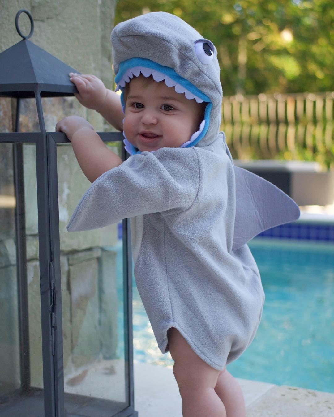 Pottery barn kids, baby shark costume, halloween costumes