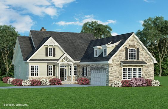 Home Plan The Colthorpe By Donald A Gardner Architects Craftsman Style House Plans Craftsman House Plans Craftsman Floor Plans