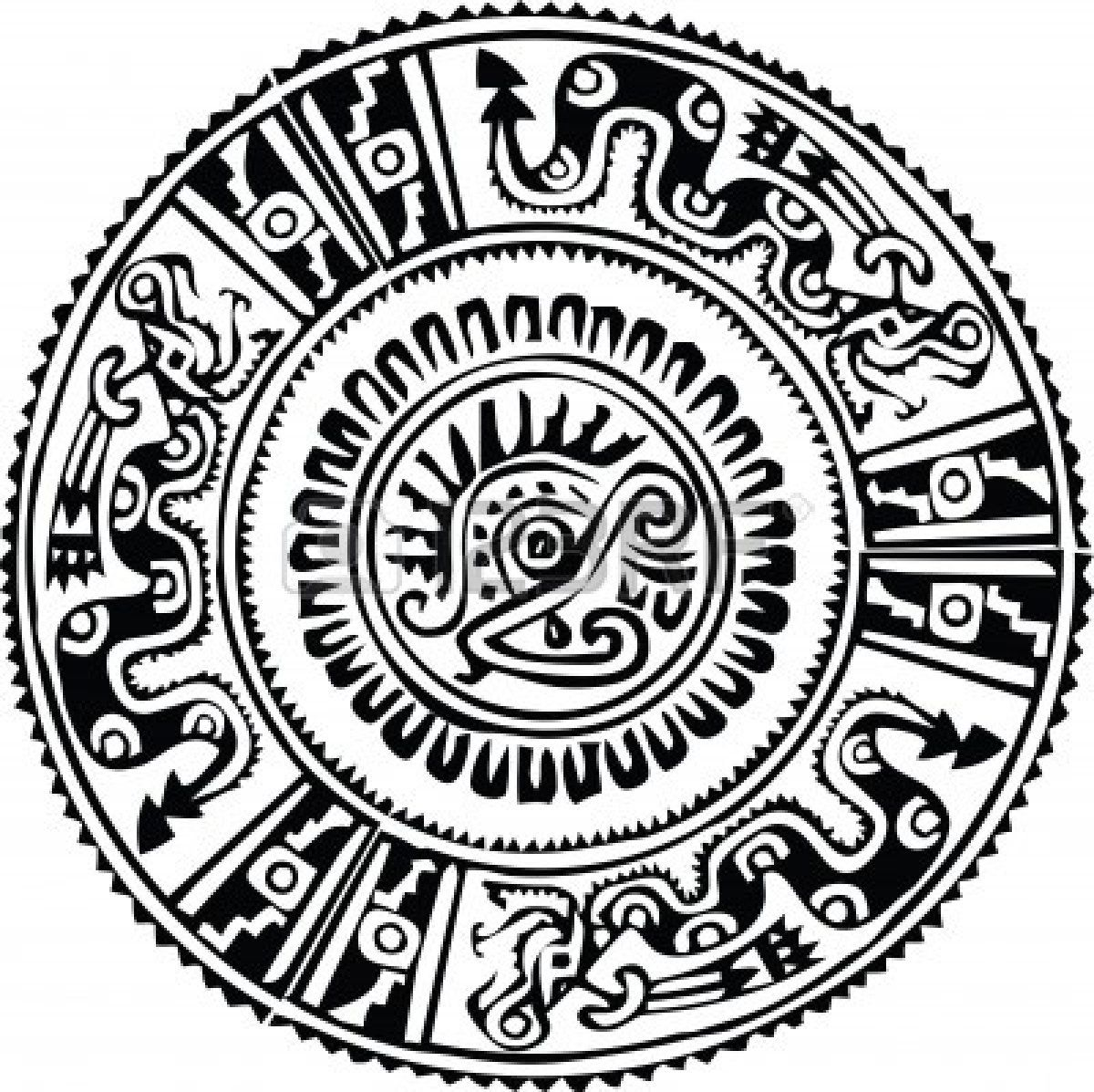 Aztec Symbol Stock Illustrations, Cliparts And Royalty