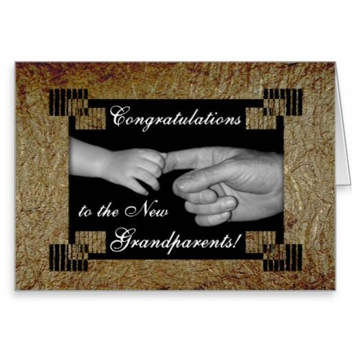 congratulate new grandparents greeting card gifts for grandparents