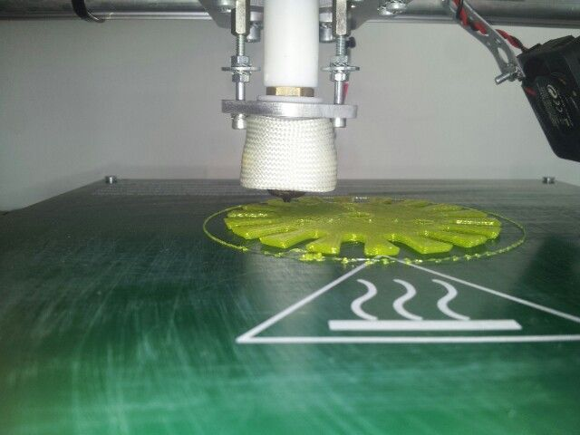3D printing our omnidirectional wheel
