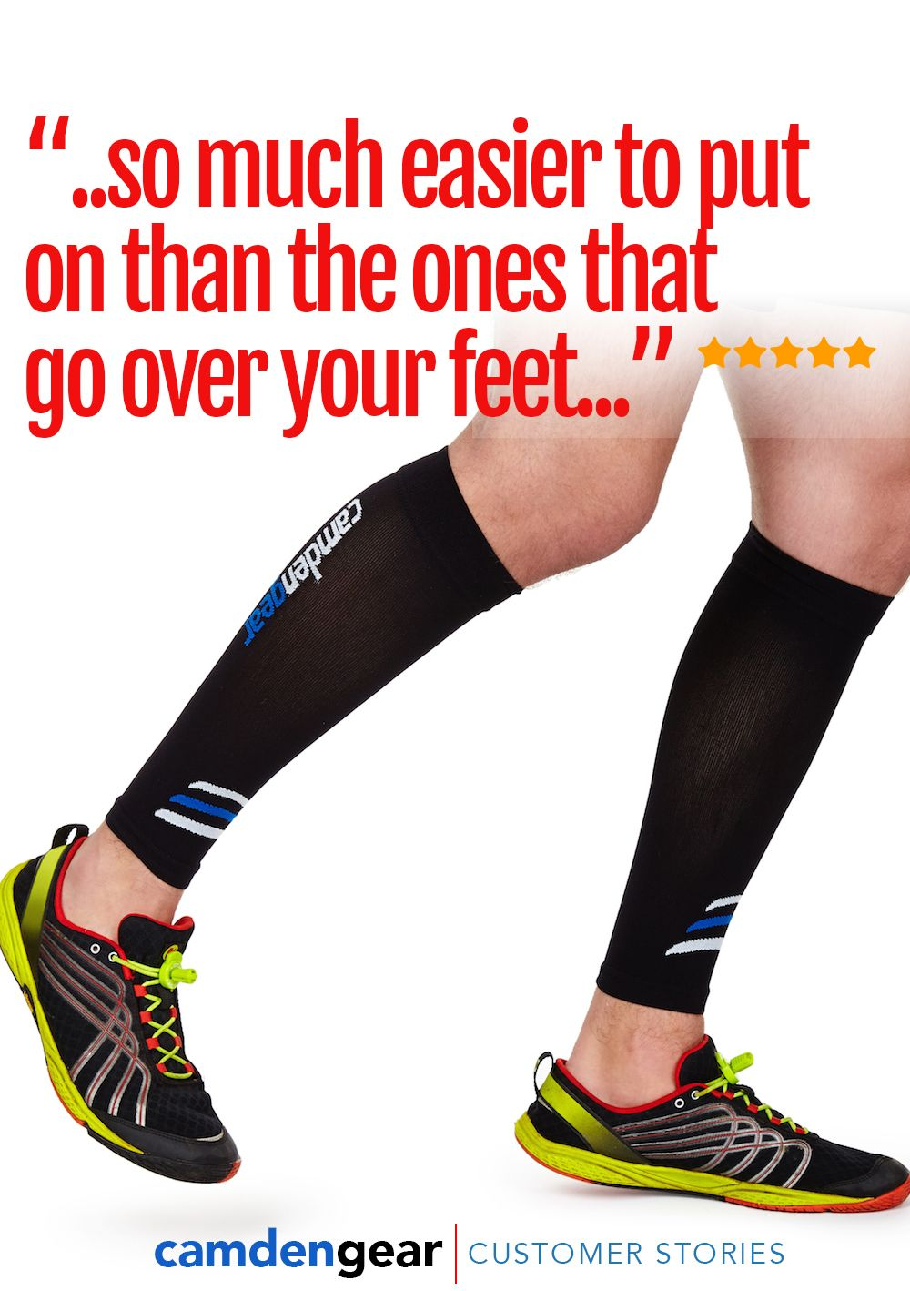 Camden Gear Calf Compression Sleeve for the Runners. These help you ...