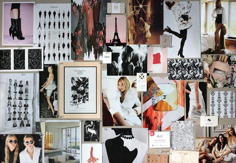 Seasonal Pinboard Black White Blush Aesthetic Desktop Wallpaper Macbook Wallpaper Collage Background