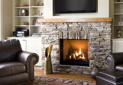 Manteau de foyer contemporain recherche google salon pinterest foyers - Decoration foyer salon ...