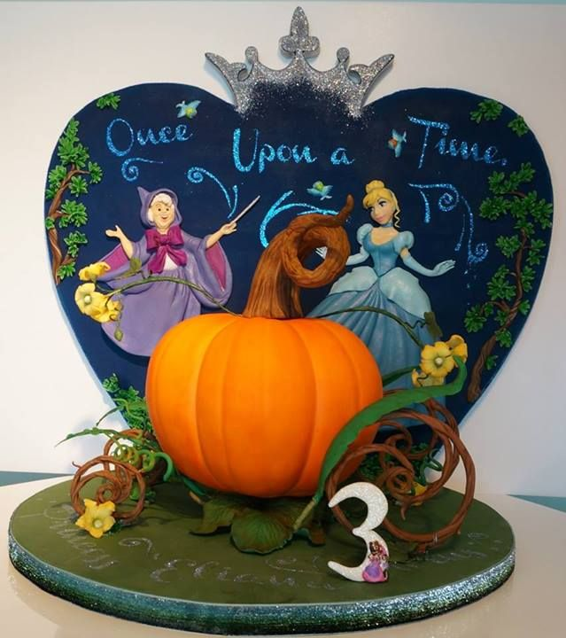 This Cinderella 3rd Birthday Cake Is Magical Cake Character cakes
