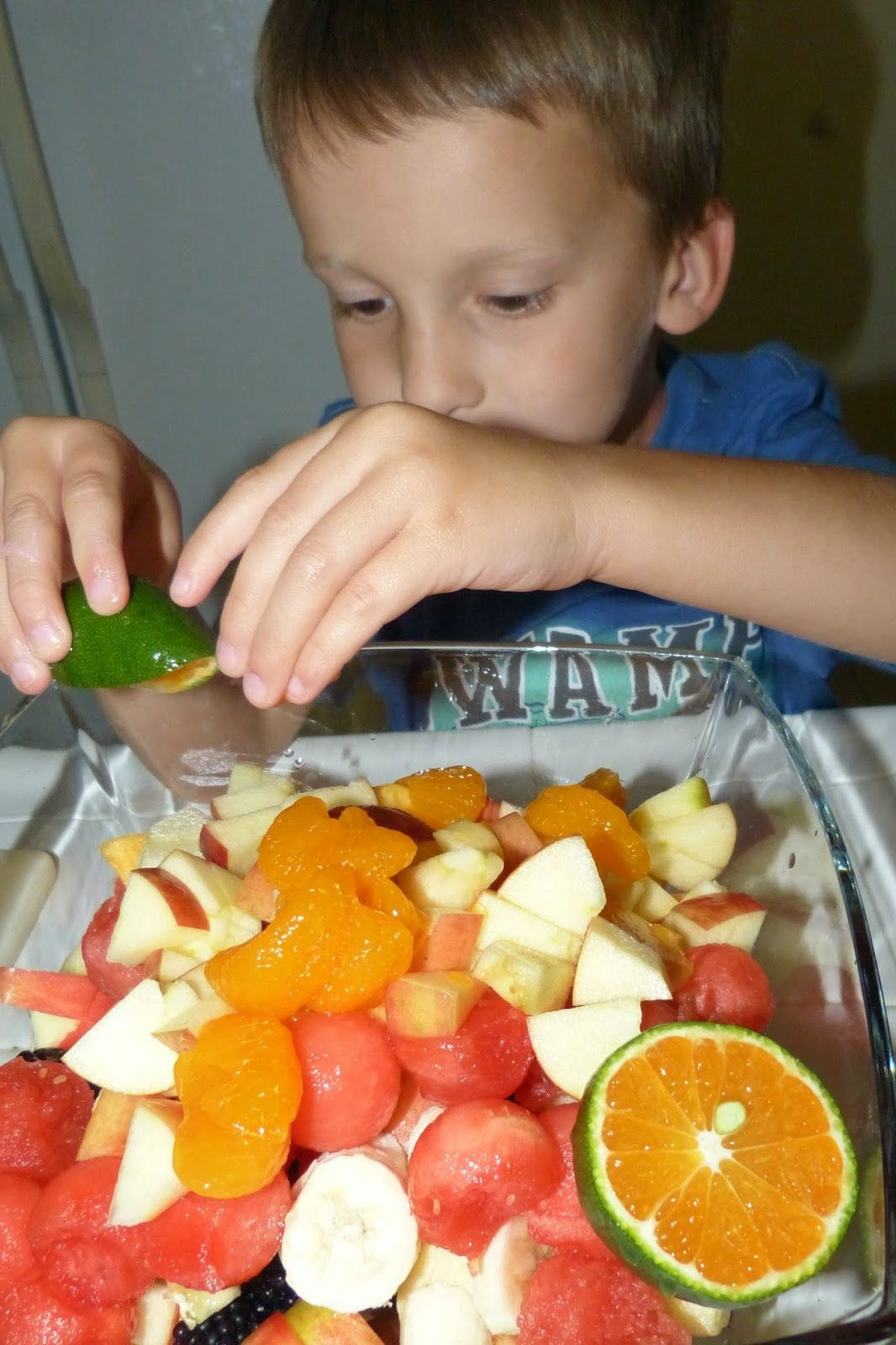 Friendship fruit salad healthy mind and body healthy
