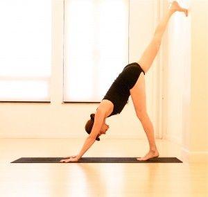 yoga move to boost immunity wall splits  yoga moves