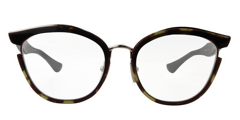 1793dd2412d23 Dita - MIKRO Dark Tortoise-Burnt Brown Back - White Gold eyeglasses ...
