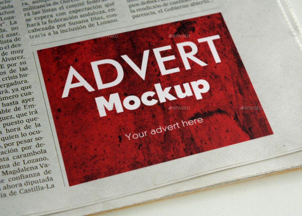 20+ Ad Mockup Design Templates for Designers - Graphic Cloud