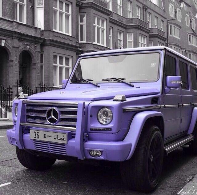 Mercedez Benz Jeep: Purple Matte Mercedes G Wagon - Google Search