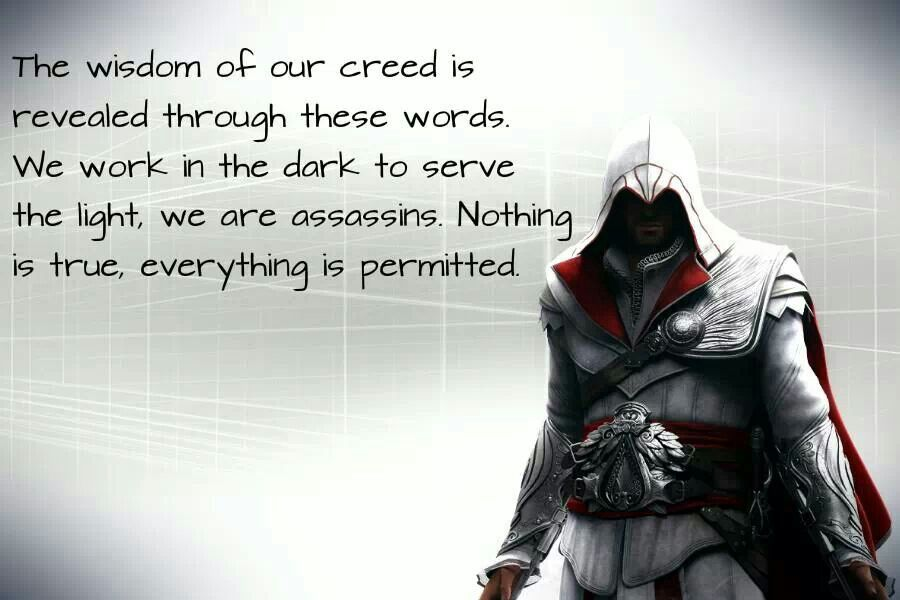 Pin By Danielle Carter On Assassin S Creed Assassins Creed Quotes Creed Quotes Assassin