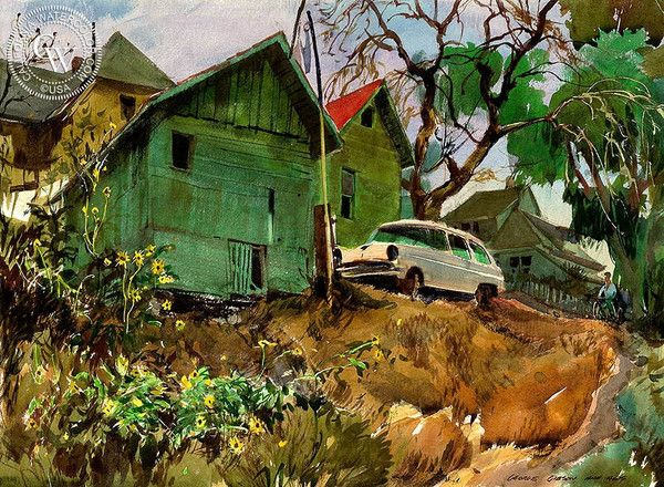 contemporary realism landscapes by Mac Stevenson ...  |1950s American Realism Art Landscapes