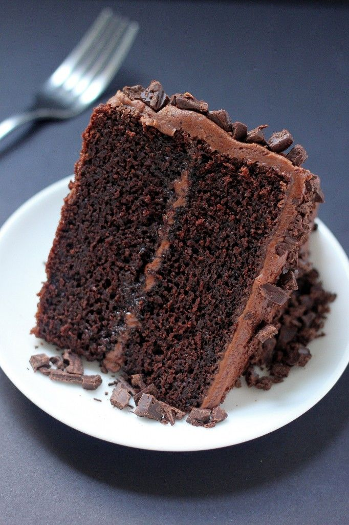 Chocolate cake with fudge frosting recipe