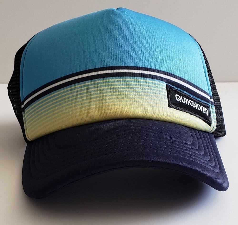 Stripes Baseball Cap Animal Embroidered Patch Mesh Back Adjustable Trucker Hat