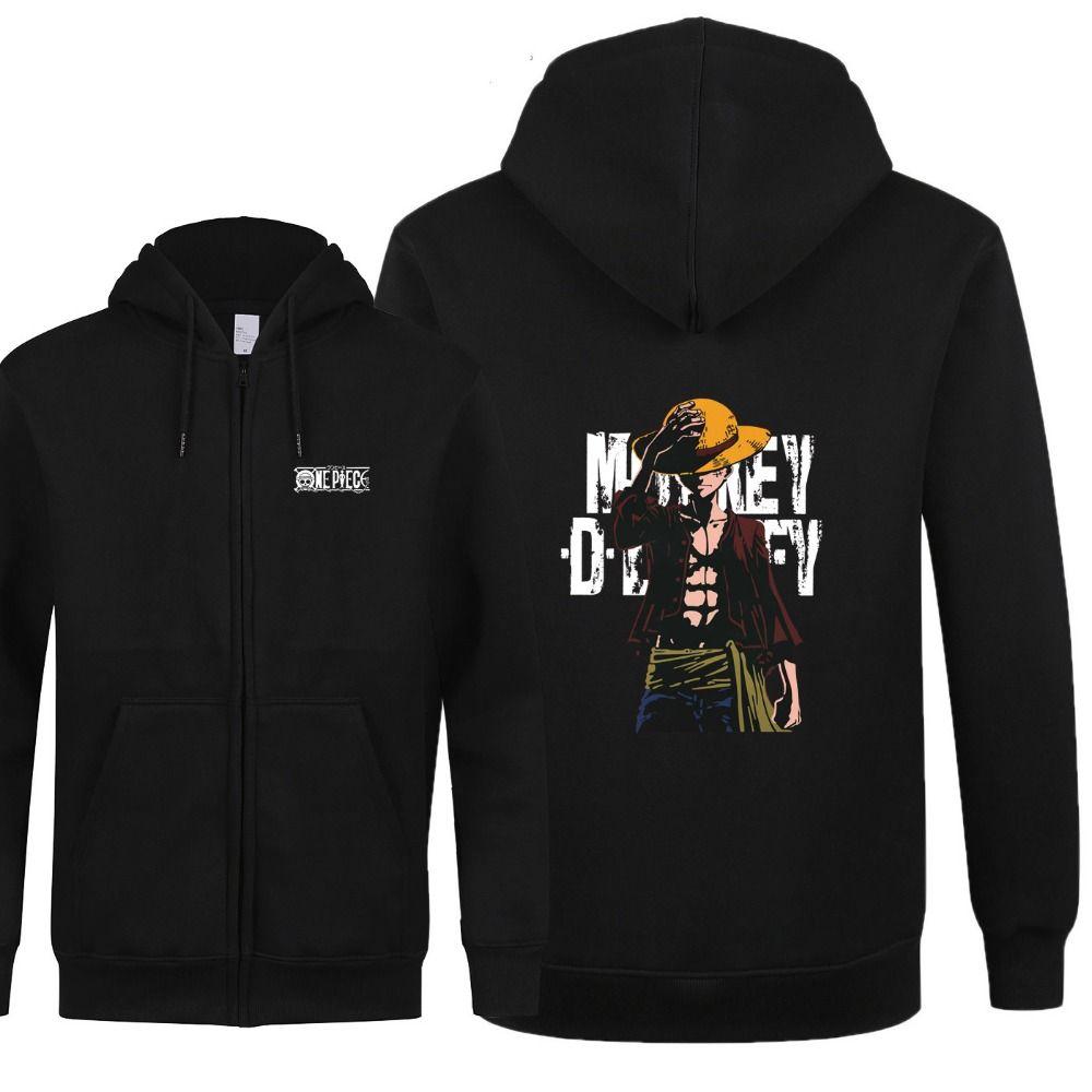 One piece sweatshirts men monkey d luffy hoodies price 46 99 free shipping onepiece
