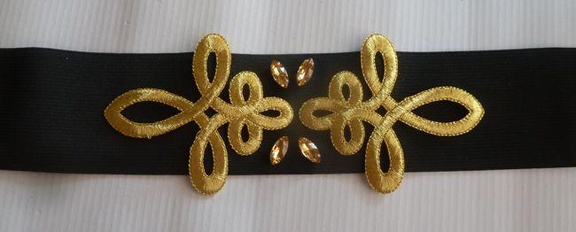 Martes DIY: Cinturón joya con apliques