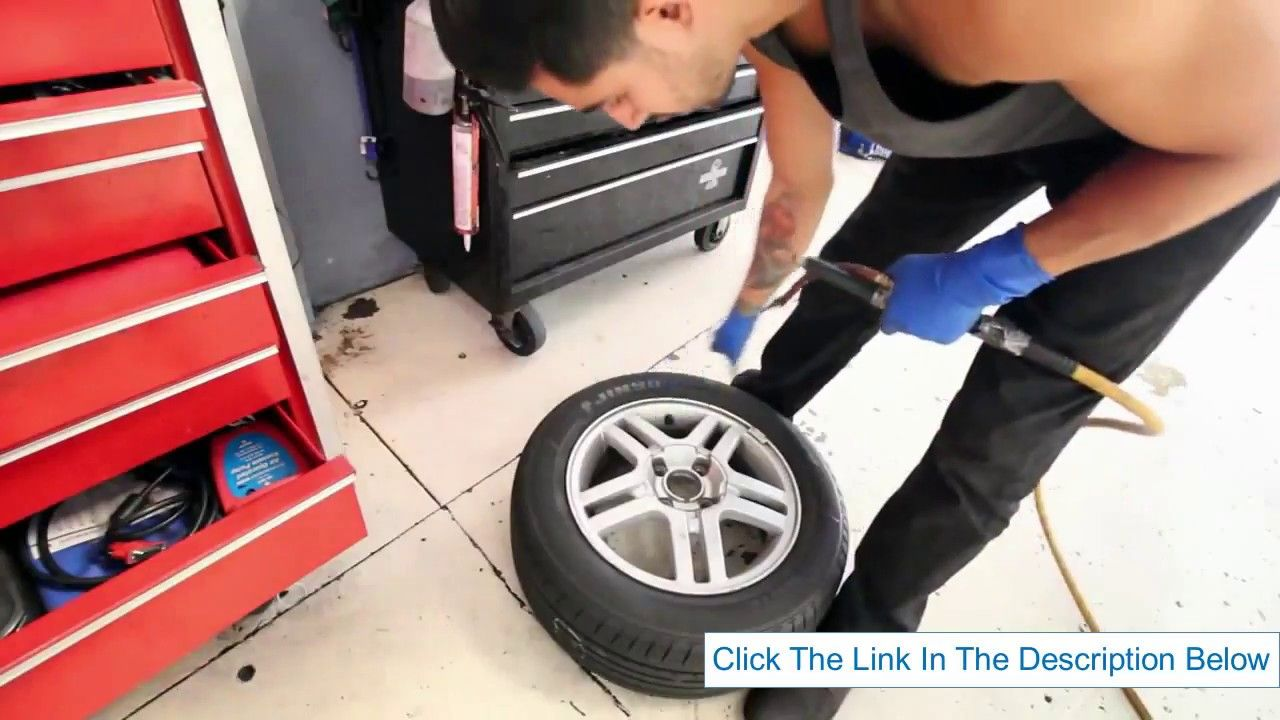 How to fix a flat tire on a car the simple way with