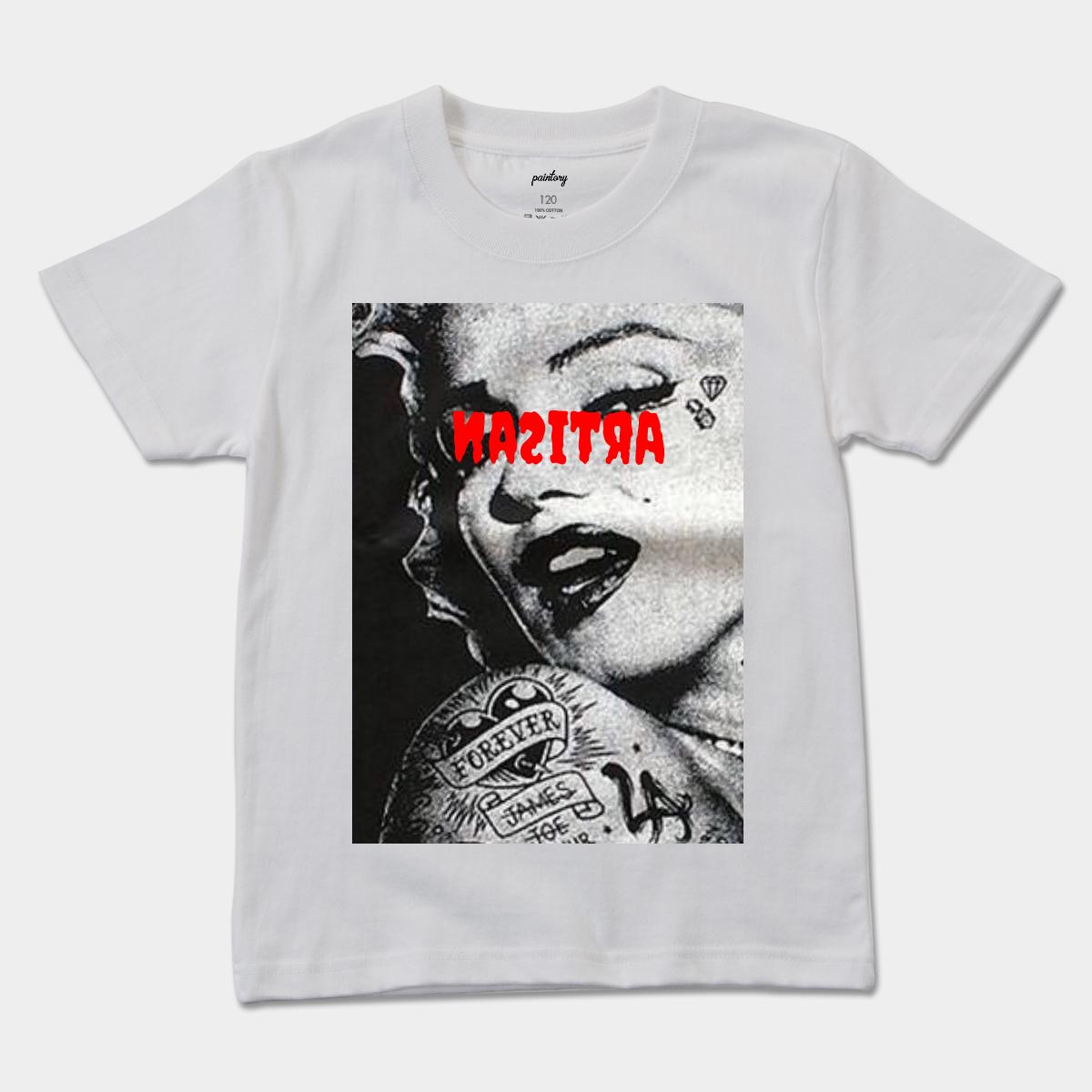Artisanのキッズ Tシャツ Artisanモンロー