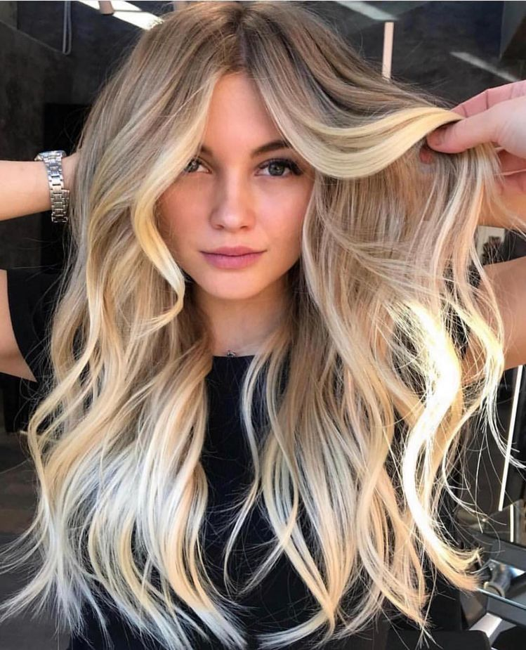 Tape in Balayage Darkest Blonde with Bleach Blonde Human Hair Extensions #14/60