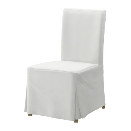 HENRIKSDAL Chair IKEA Seat filled with polyester wadding and high back for  enhanced seating comfort HENRIKSDAL Chair with long cover  birch  Blekinge white   Birch  . High Back Dining Chairs Ikea. Home Design Ideas