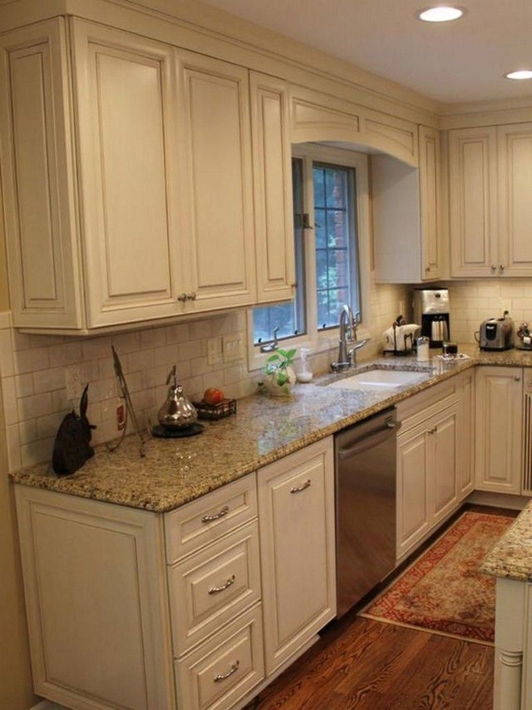 Astounding Enforced Distressed Kitchen Cabinet More Tips Here Backsplash Kitchen White Cabinets White Kitchen Cabinets Kitchen Backsplash