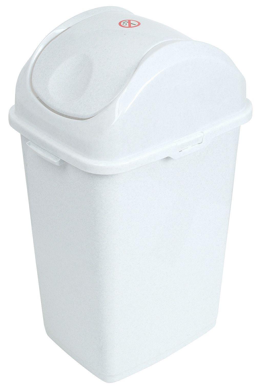 Plastic 13 Gallon Swing Top Trash Can Trash Bins Swing Top Rv