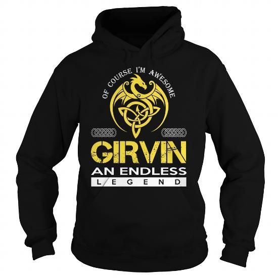GIRVIN An Endless Legend (Dragon) - Last Name, Surname T-Shirt - #couple shirt #awesome hoodie. GIRVIN An Endless Legend (Dragon) - Last Name, Surname T-Shirt, sweatshirt style,green sweater. ACT QUICKLY =>...