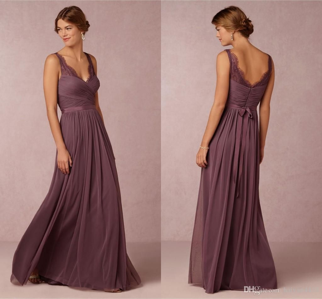 Bridesmaid dresses 2016 cheap long for weddings grape chiffon v bridesmaid dresses 2016 cheap long for weddings grape chiffon v neck lace sashes plus size open ombrellifo Image collections