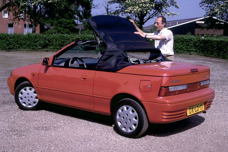 Suzuki Swift Cabriolet | Suzuki | Suzuki swift, Swift, Small