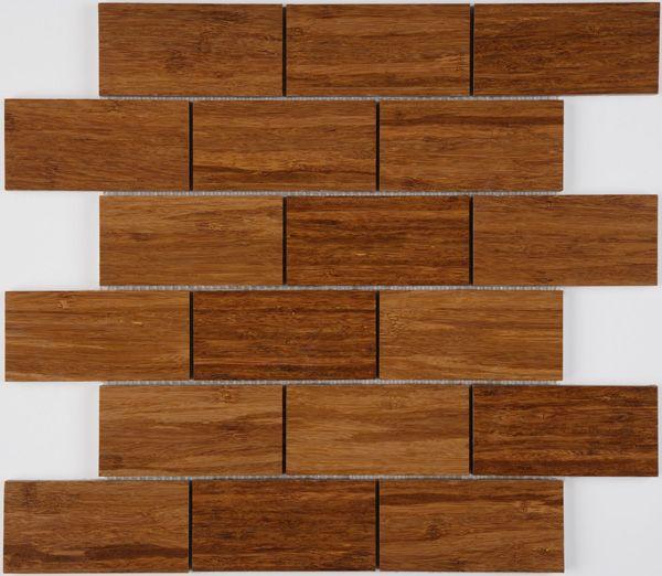 Outdoor Bamboo Floor Tiles 300x300x25mm Bathroom Floor