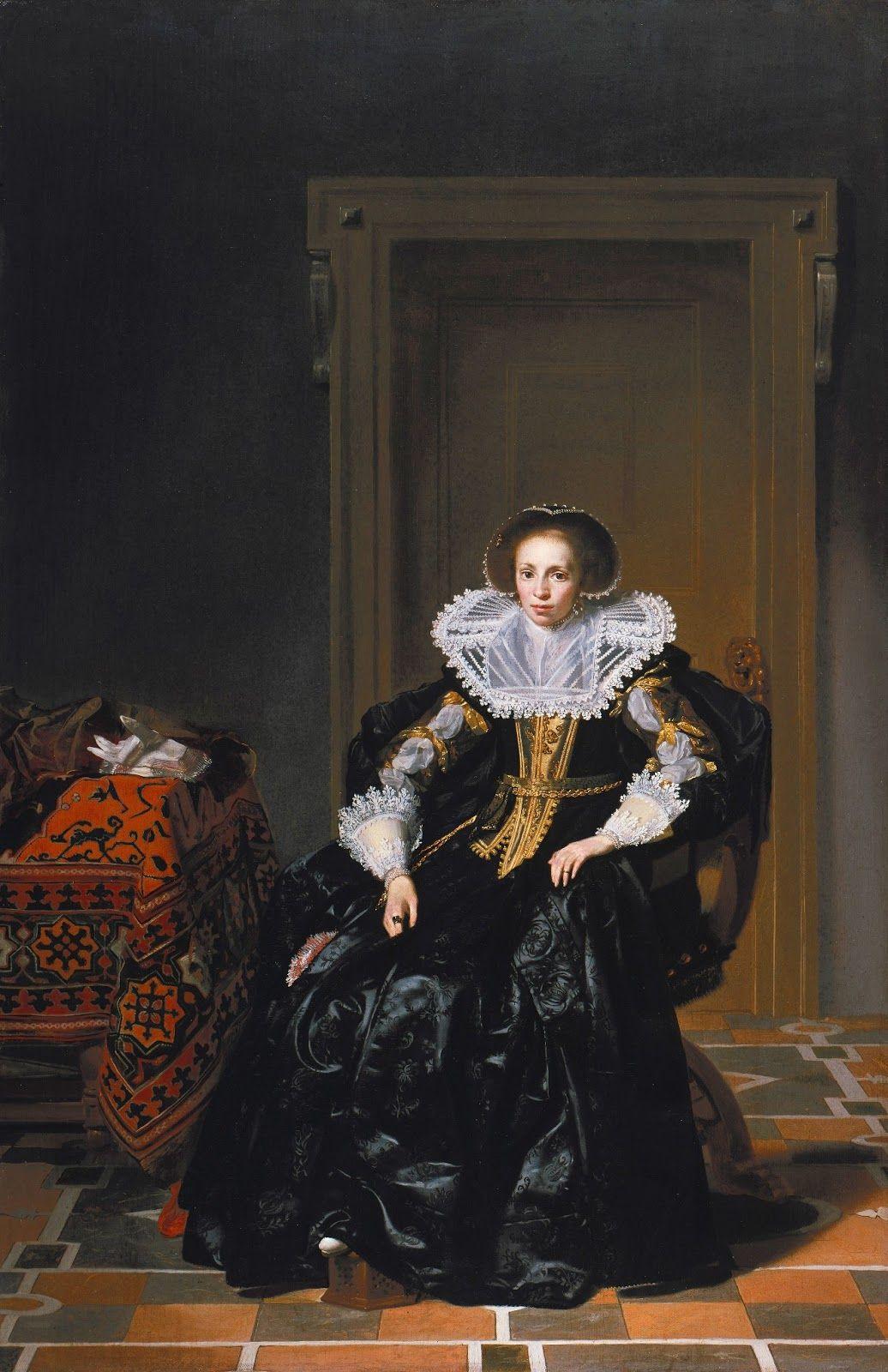 Madame de Pompadour (Two 1630s paintings by Thomas de Keyser; Portrait...)