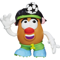 Mr. Potato Head at HasbroToyShop.com | PLAYSKOOL MR. POTATO HEAD LITTLE TATERS BIG ADVENTURES SOCCER SPUD FIGURE Product Details