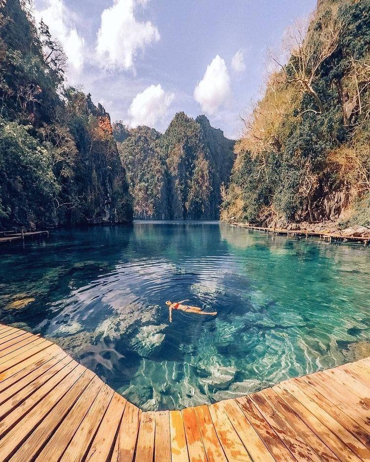 Kayangan Lake Philippines Beautiful Places To Travel Places To Travel Vacation Places