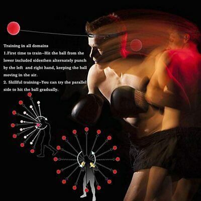Reflex Speed Trainer Punch Ball For All Sports Raising Hand Eye Coordination