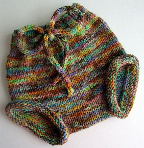 love these knitted diaper covers ... | Baby knitting ...