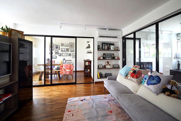 Renovation 4 Stylish Ideas For Open Concept HDB Flat Homes