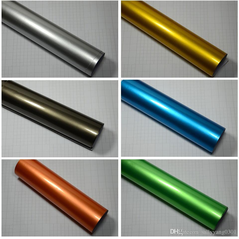 1 52x20m5x65ft Ultra Metallic Vinil Gloss Metallic Vinyl