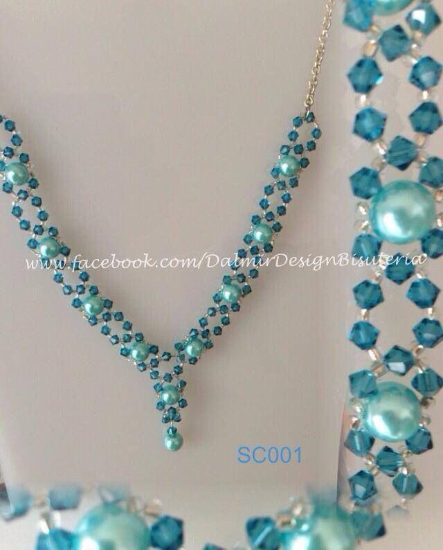 8439212c2786 Resultado de imagen para diy collar de perlas y piedras swarovski ...